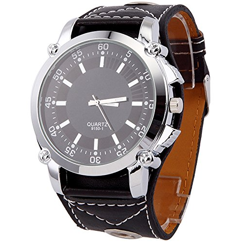 Klassische speziellen modernen Frauen kleiden Uhren Super gro e Zifferblatt Quarz Armbanduhr schwarz