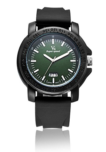 V6 neue Ankunfts Luxus Uhr Mode Quarz Armbanduhr Super Soft Silikon Band Gr n