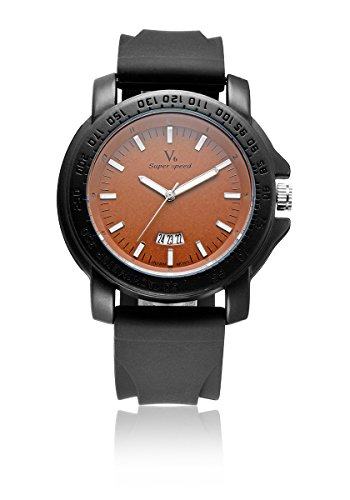 V6 neue Ankunfts Luxus Uhr Mode Super Soft Silikon Band Orange