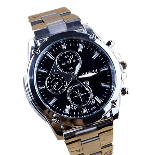 Fortan Men Business Noble Edelstahlarmband Machinery Sport Quartz Watch