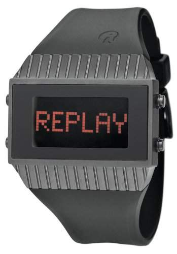 Replay Damen-Armbanduhr Digital Kautschuk RD7102NND