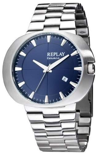 Replay Herren-Armbanduhr XL Analog Edelstahl RM5203XH