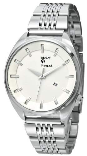 Replay Herren-Armbanduhr XL Analog Edelstahl RM5305BH