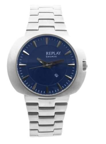 Replay Herren-Armbanduhr XL Analog Edelstahl RN5203XH