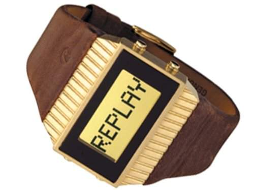 Replay Damen Armbanduhr Quarz RW3102NFD, 42 mm
