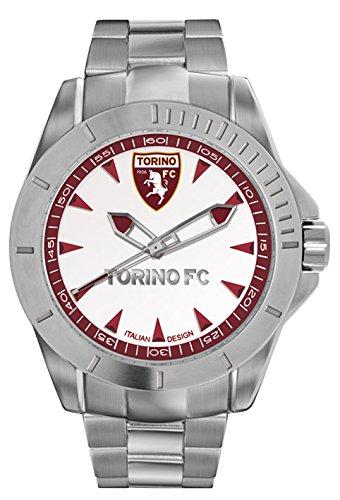 Torino Calcio Herren Armbanduhr Quarz Edelstahl T7366UWR