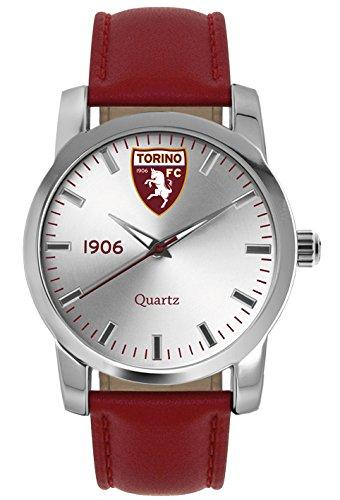 Torino Calcio Herren Armbanduhr Analog Quarz Leder T6398US1