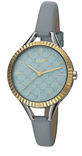 Joop Damen Armbanduhr Blue Break Analog Quarz Leder JP101872002