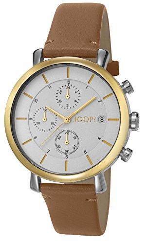 Joop Golden Leather Chronograph Quarz Leder JP101772010