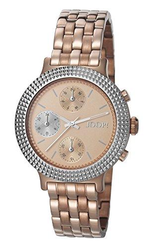 Joop Damen Armbanduhr Simply Rose Analog Quarz Edelstahl beschichtet JP101852005