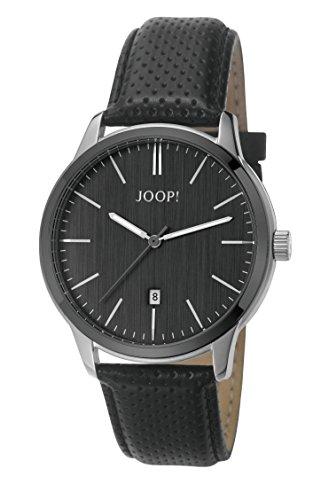 Joop Herren Armbanduhr Gun Shade Analog Quarz Leder JP101821001