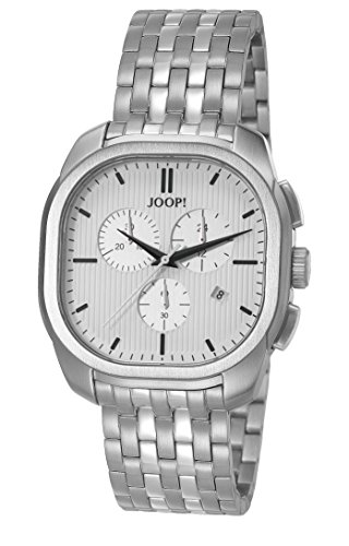 Joop Herren Armbanduhr Smart Silver Analog Quarz Edelstahl JP101811004