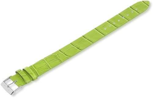 Moog Damen-Armbanduhr Leder gruen AL-11