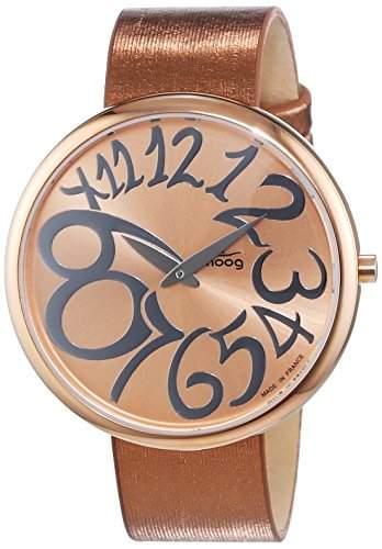 Moog Damen-Armbanduhr Analog Textil M41671-010