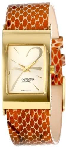 Moog Damen-Armbanduhr Analog Leder braun M41661-008
