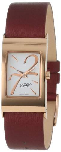 Moog Paris Damen XWA3666W-TS-15RG Domed Rose-Plated Analog Armbanduhr