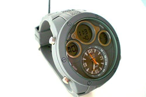 Sami RSM 77752 4 Armbanduhr Mann Dual Digital Analog Modul Spezielle WR30M Wasserdicht 30m