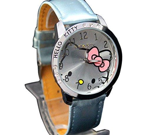 New Lovely Fashion Hello Kitty watches Girls Uhren M dchen Ladies Wrist Watch WKT KTW985L