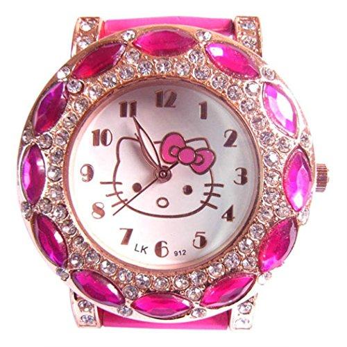 New Lovely Fashion Hello Kitty watches Girls Uhren M dchen Ladies Wrist Watch WKT KTWB0321R