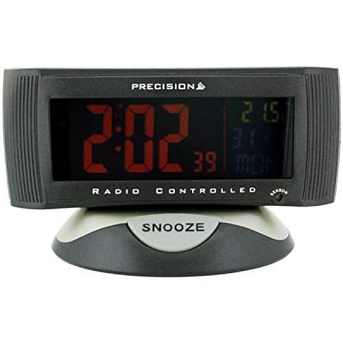 Precision -AP004 - funkgesteuerte Uhr mit Temperaturanzeige - Funktioniert nur in England