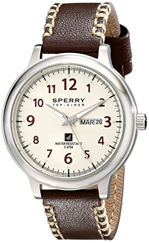 Sperry top sider Herren 10018686 Largo Analog Display Japanisches Quarz braun Armbanduhr
