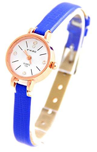 Leder blau Vintage 1434