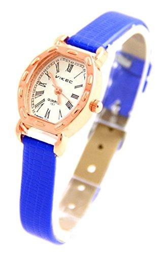 Leder blau Vintage 786