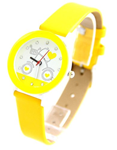 Leder gelb Vintage 1177