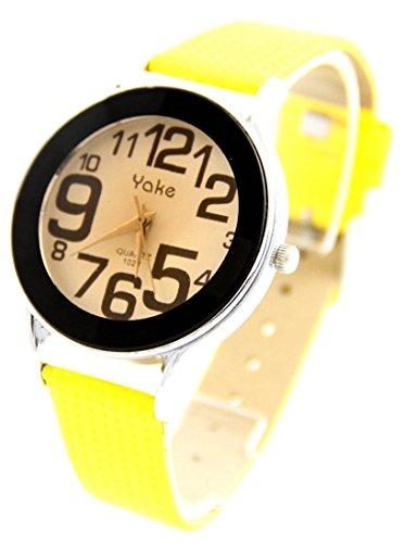 Leder gelb Vintage 71