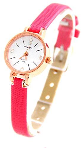 Leder rosa Vintage 1073