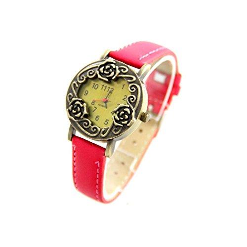Leder rosa Vintage 2869