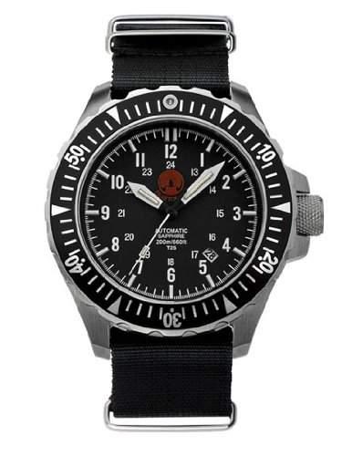 PRAETORIAN Signifer Automatik Taucheruhr - Nato Armband