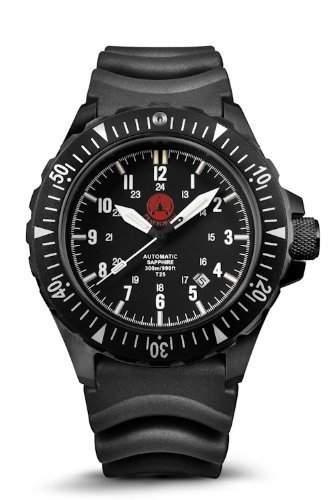 PRAETORIAN Signifer Black Automatik Diver - Diver Armband