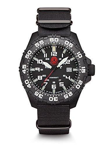 Praetorian SOCOM Black Nato Armband 20 Bar Trigalight Sekundenzeiger H3 Tritium Uhr