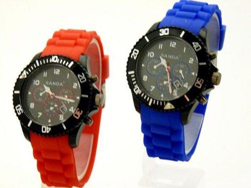 2 Stueck Eiszeit Chronos Blau Rot