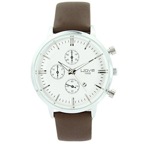 Armbanduhr Leder braun Style Chrono Wave 778