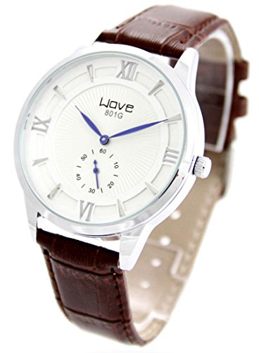 Armbanduhr Leder braun Wave 1446