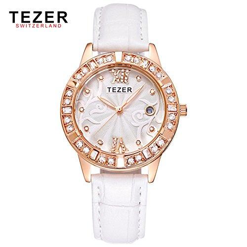 Tezer New Fashion wasserabweisend Quarz Handgelenk wathes T2012