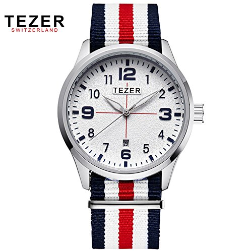 Tezer New Fashion Quarz Herren Handgelenk Uhren T2011