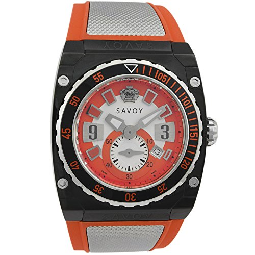 Savoy Icon Extreme Edelstahl Mesh Herren Armbanduhr wm1 21b7r1 71 Ro TS