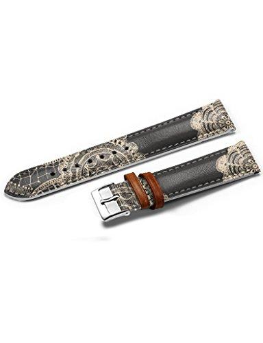 14mm Uhrenarmband Modell Style Lederarmband Stahlschliesse Handgearbeitet iCreat