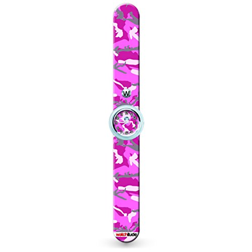 322 Pink Camo Watchitude Slap Watch