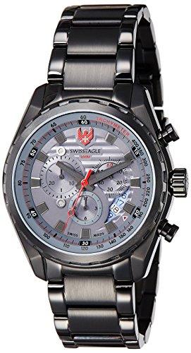 Swiss Eagle Engineer fuer Maenner Armbanduhr Chronograph SE 9062 66