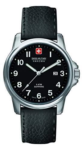 Swiss Military Hanowa Herren-Armbanduhr XL SOLDIER PRIME Analog Quarz Leder 06-423104007