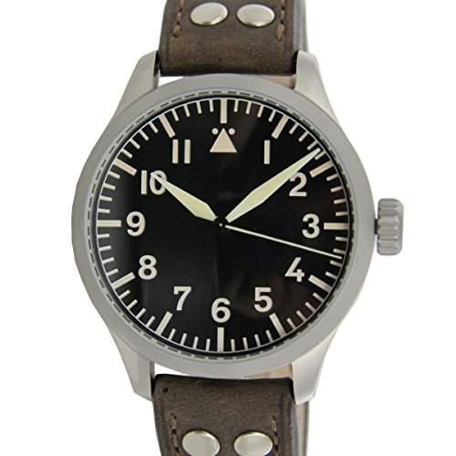Aristo Herren Uhr Armbanduhr Beobachter Automatik Edelstahl 3H143A