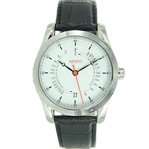 Aristo Unisex Uhr Armbanduhr AErzteuhr Automatik Leder 4H124