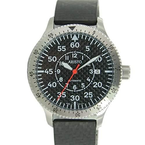 Aristo Herren Uhr Carbon Automatik 7H74CAR