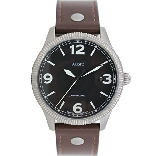 Aristo Armbanduhr Automatic Edelstahl 3H136 Leder