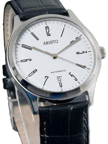 Aristo Uhr Dessau klassische Armbanduhr mit ETA 2824 2 4H127