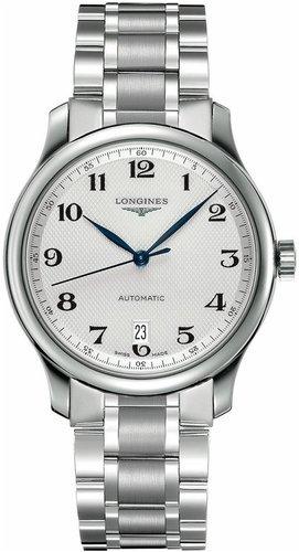 Longines Armband Edelstahl Gehaeuse Automatik Zifferblatt Silber Analog L26284786